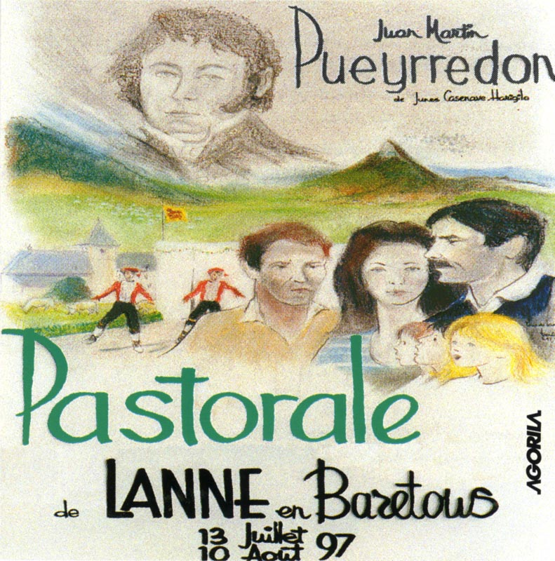 Juan Martin Pueyrredon: pastorale de Lanne-en-Baretous