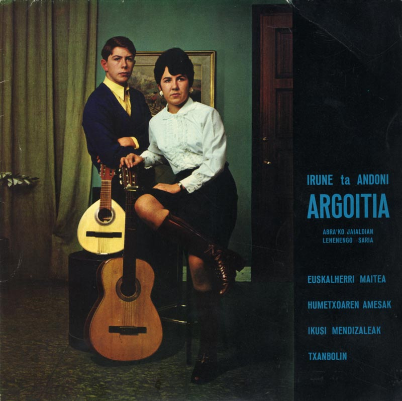 Irune ta Andoni Argoitia